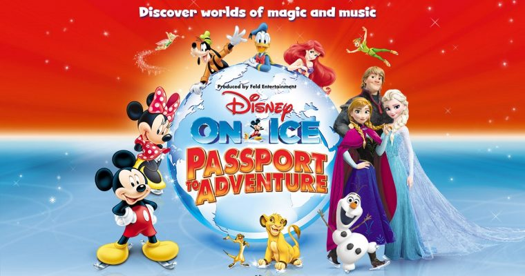 DISNEY ON ICE PRESENTS PASSPORT TO ADVENTURE 2017