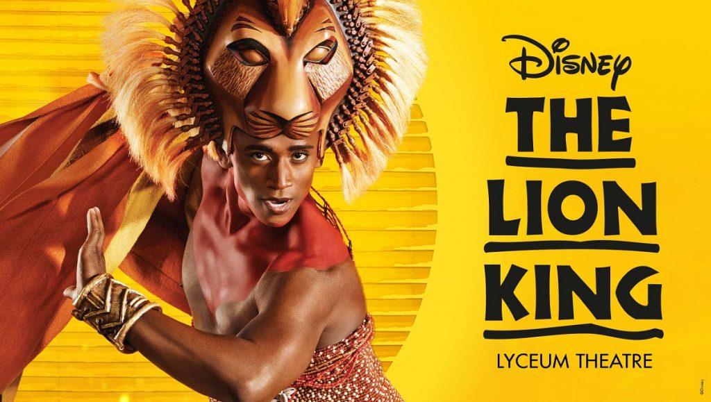 The Lion King edinburgh playhouse 2019 2020