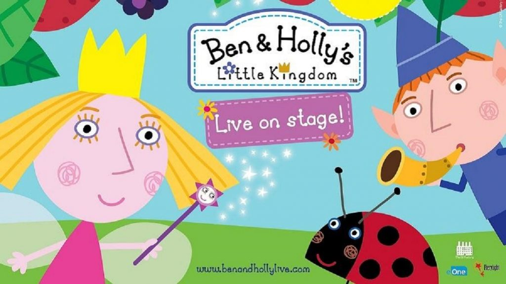 Ben and Holly Live Show for children day out