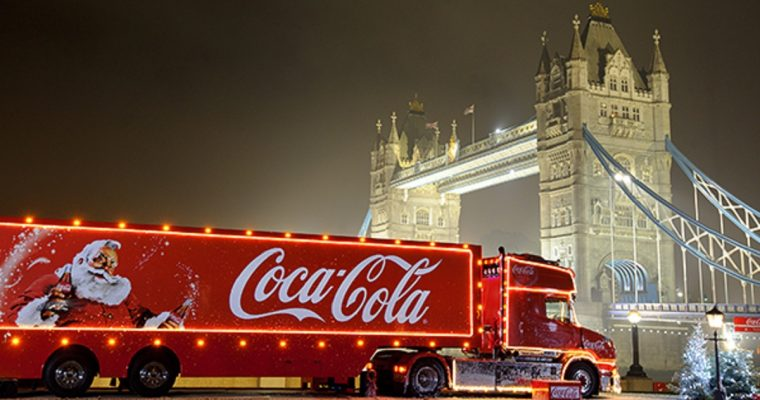The 2018 Coca-Cola Christmas Truck Tour