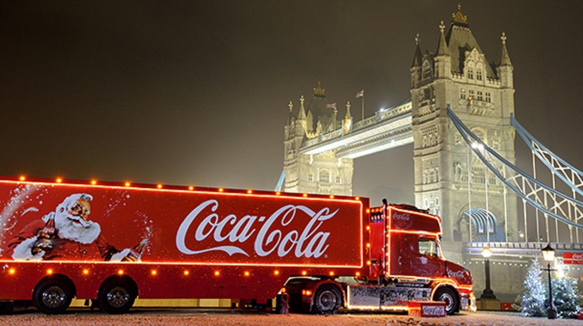The 2018 Coca-Cola Christmas Truck Tour