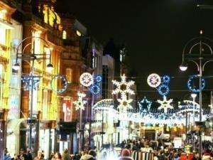 Leeds Christmas Light Switch On