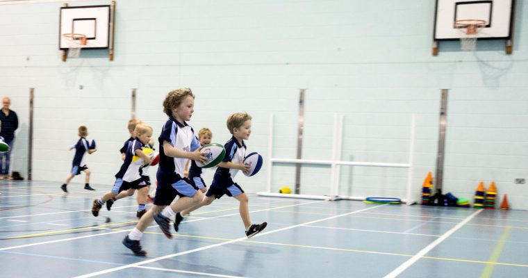 Rugby Tots – A Great Confidence Builder