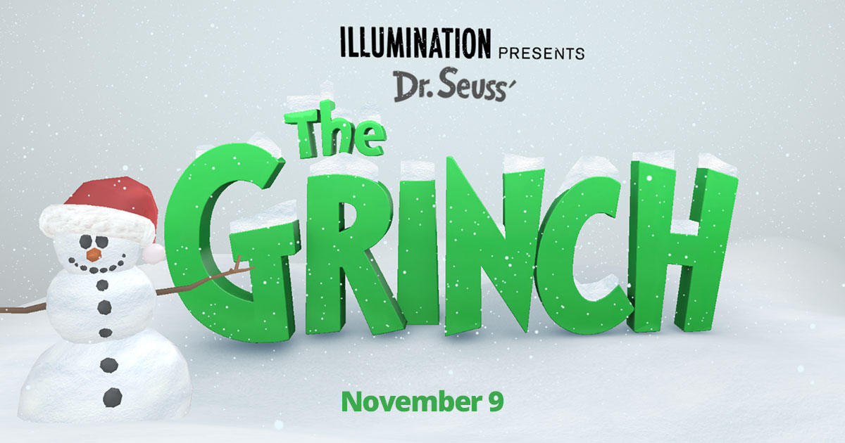 The Grinch is coming to Cinemas this weekend