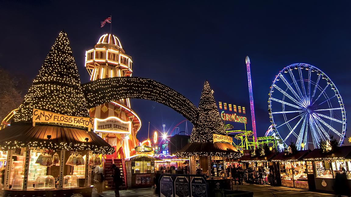Winter Wonderland – Hyde Park, London
