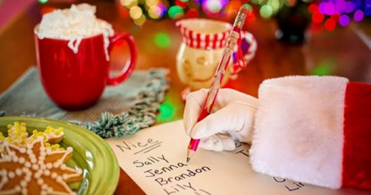 Write a letter to Santa this Christmas