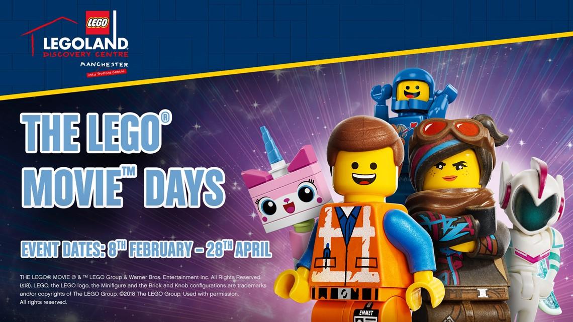 Lego Movie Days at Legoland Discovery