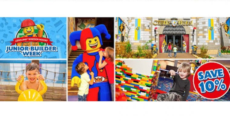 10% off at LEGOLAND this February Half Term!