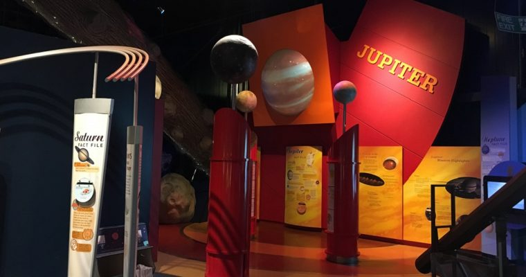 Out of this world experience at the National Space Centre