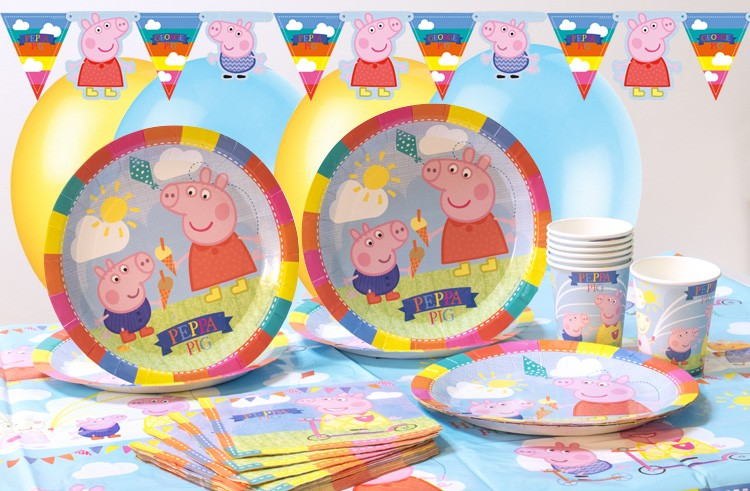 Peppa Pig Party Kit Little Ankle Biters Uk